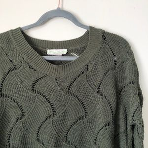 Staring at Stars (UO) loose wavy knit sweater - XS